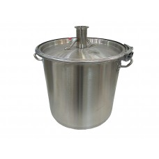 """Куб 12 литров (крышка с выходом 1,5"""", П-образная прокладка, регулируемый обруч)"""