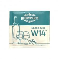 Винные дрожжи Beervingem White Wine W14, 5г