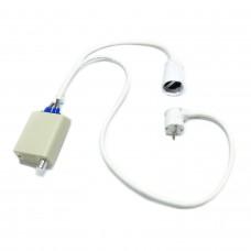 Регулятор напряжения 4кВт (белый) с подключением