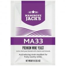 "Винные дрожжи Mangrove Jack""s ""MA33"", 8г"