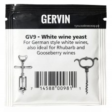 """Винные дрожжи Gervin """"White Wine GV9"""", 5г"""