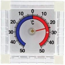 ТББквадр. Россия Термометр оконный биметаллический квадр