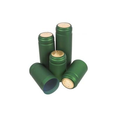 Термоколпачек для винных бутылок. Зеленый, 100 шт.