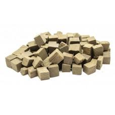 КУБИКИ дубовые (кубики), средний обжиг, 100 гр.