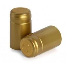 Термоколпачек для винных бутылок. Золотой, 100 шт.