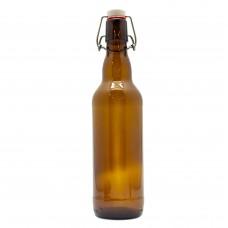 Бутылка с бугельной пробкой, 0,5 л ТЕМНАЯ