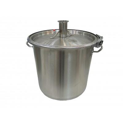 """Куб 37 литров (кастрюля, крышка с выходом 2"""",п-образная прокладка,регулируемый обруч)"""